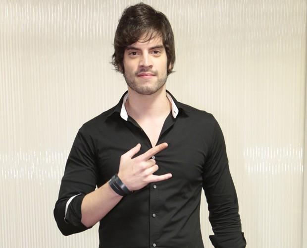 Rafael Furtado, de 24 anos, está no time de Lulu Santos  (Foto: Felipe Monteiro/TV Globo)