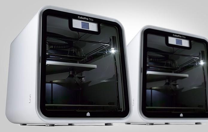 Impressora 3D CubePro, voltada para uso comum (Foto: Divulgação)
