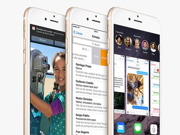 Novo iOS será lançado nesta quarta-feira (17) (Foto: Divulgação/Apple)