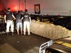 Policiais do RS apreendem mais de uma tonelada de droga em caminhão
