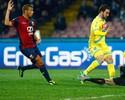 Higuaín abre o placar, mas Napoli cede empate no fim para o Genoa