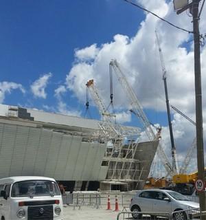 Arena Corinthians Módulo (Foto: Reprodução/Instagram)
