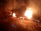 Homem morre carbonizado após ficar preso pelo cinto de segurança na BA