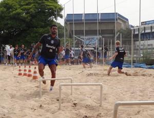 Vilson treina no Olímpico pelo Grêmio (Foto: Hector Werlang/Globoesporte.com)