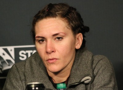 Cat Zingano UFC 184 (Foto: Evelyn Rodrigues)