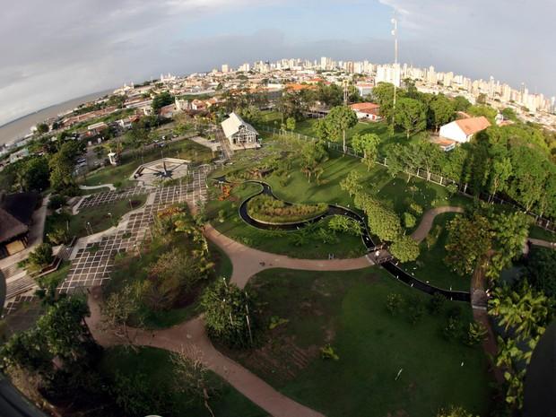 Mangal das garças tem viveiros de aves, borboletário e orquidário (Foto: Carlos Sodré / Agência Pará)