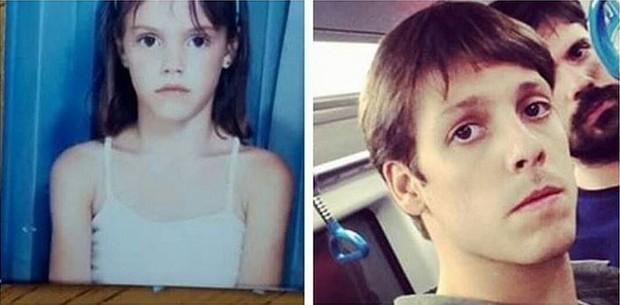 Laura Neiva posta montagem de foto em que se compara com Fabio Porchat (Foto: Instagram / Reprodução)