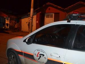 Crime ocorreu na noite desta quinta-feira em Piracicaba (Foto: Thomaz Fernandes/G1)