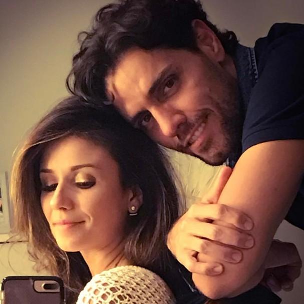 Paula Fernandes e o namorado, Thiago Arancam (Foto: Instagram/Reprodução)