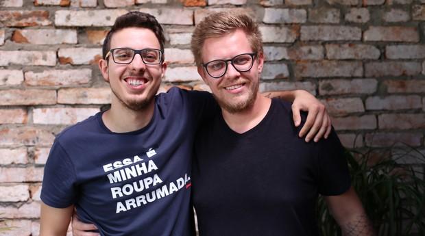 Guilherme Massena e Eduardo Hommerding, fundadores da Dobra (Foto: Divulgação)