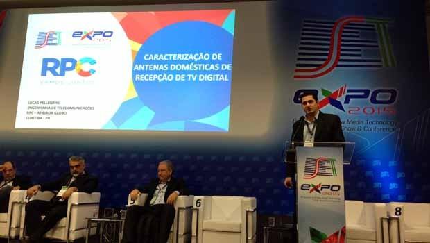 RPC marca presença no Congresso SET Expo 2015, em São Paulo (Foto: Divulgação/RPC)