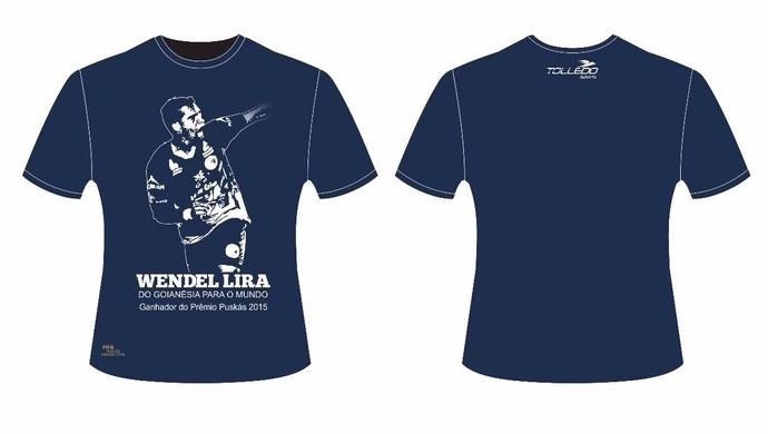 Camisa de homenagem a Wendell Lira - Goianésia (Foto: Divulgação / Goianésia)