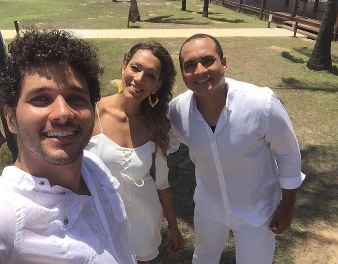 Neste sábado, 31, este trio vai comemorar com você (Foto: TV Sergipe)