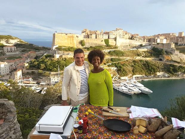 Olivier e esposa esto grvidos (Foto: Divulgao)