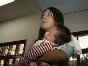 Crianças não estão sendo vacinadas como deveriam (Foto: Reprodução/TV Mirante)