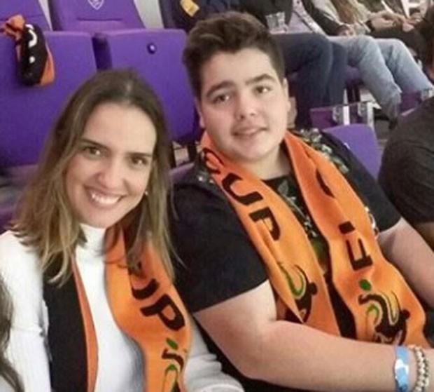 Luciana Cardoso e João Guilherme  (Foto: Reprodução)