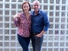 Juntos, Alexandre Borges e Julia Lemmertz desmentem separação