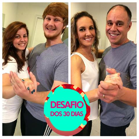 Casais serão desafiados a mudar hábito com dança de salão  (Foto: RBS TV/Divulgação)