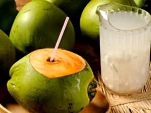 Quadro 'Vida Saudável' mostra benefícios da água de coco (Foto: Reprodução/TV Mirante)