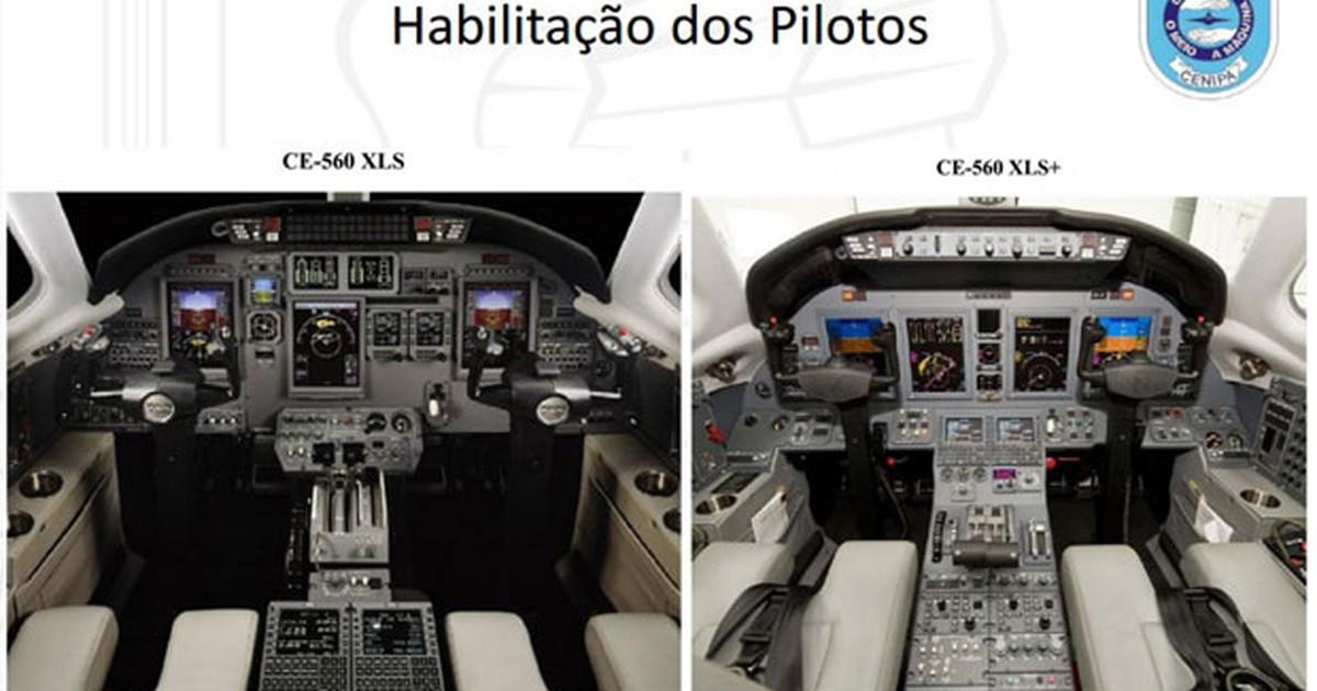 Veja diferenças entre jato de Campos e modelos que pilotos eram ... - Globo.com