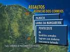 Três agências dos Correios são assaltadas em menos de 24 h, no CE