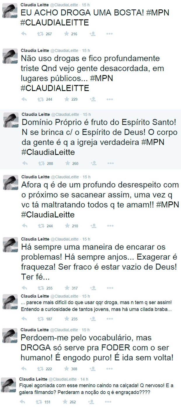 Claudia Leitte (Foto: Reprodução / Twitter)