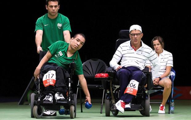 José de Oliveira bocha Paralimpíadas Brasil (Foto: Guilherme Taboada / CPB)