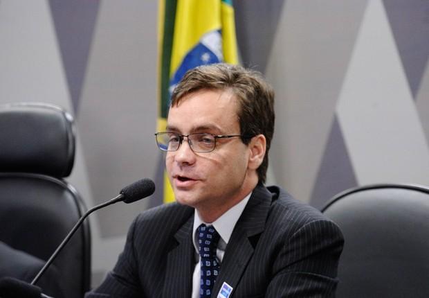 Advogado Gustavo do Vale Rocha (Foto: Edilson Rodrigues/Agência Senado)