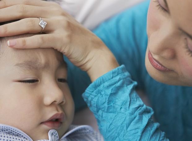 tosse; crianca; doente; (Foto: Thinkstock)