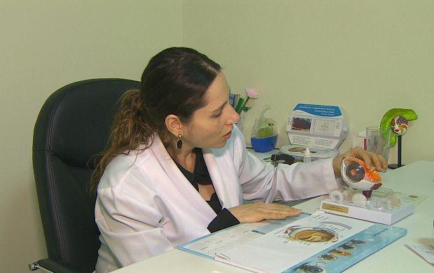 Médica especialista alerta para cuidados com a visão (Foto: Bom Dia Amazônia)