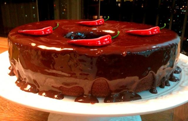 Bolo de chocolate com pimenta (Foto: Divulgação)