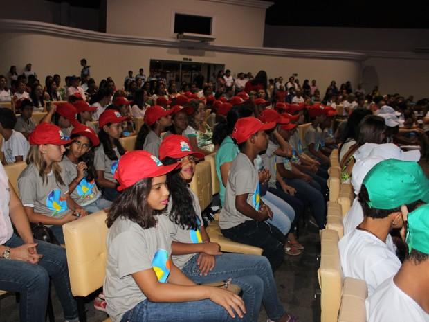 Inauguração contou com a presença de 600 estudantes (Foto: Divulgação/Sectes)