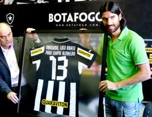 Loco Abreu (Foto: vicente Seda /Globoesporte.com)