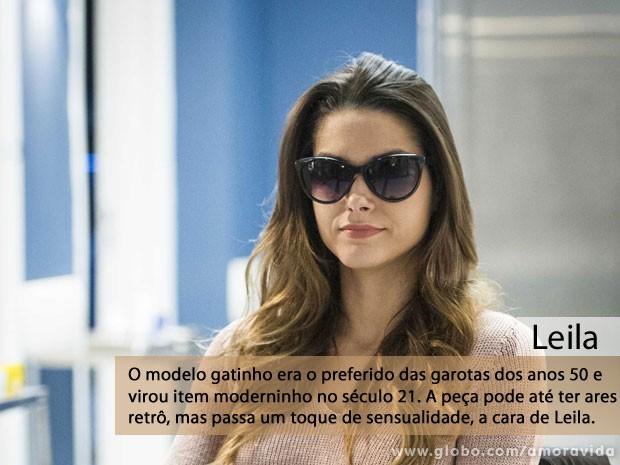 Leila (Foto: Amor à Vida/TV Globo)