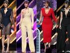 Que fôlego! Tyra Banks troca de roupa quatro vezes durante prêmio