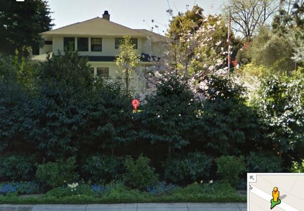 Mansão de Mark Zuckerberg (Foto: Reprodução Google Street View)