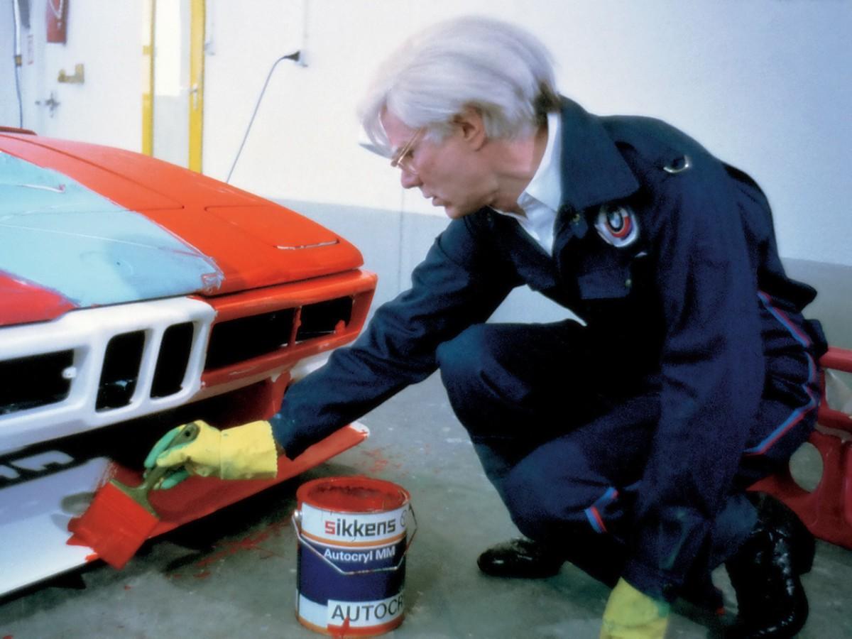 Andy Warhol: preparando o M1 para os seus 15 minutos de fama (Foto: Divulgação)