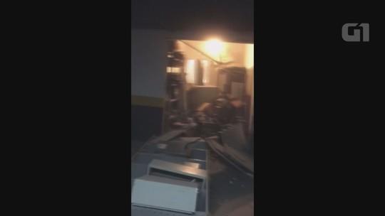Vídeo flagra desespero após explosão em hotel de Silvio Santos em Guarujá