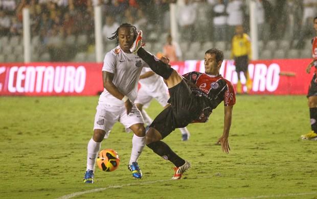 Arouca - Santos x Joinville (Foto: Mauricio de Souza/VIPCOMM )