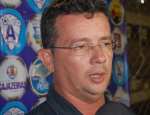 Tassiano Gadelha, técnico do Internacional de Teixeira (Foto: Silas Batista / GloboEsporte.com/pb)