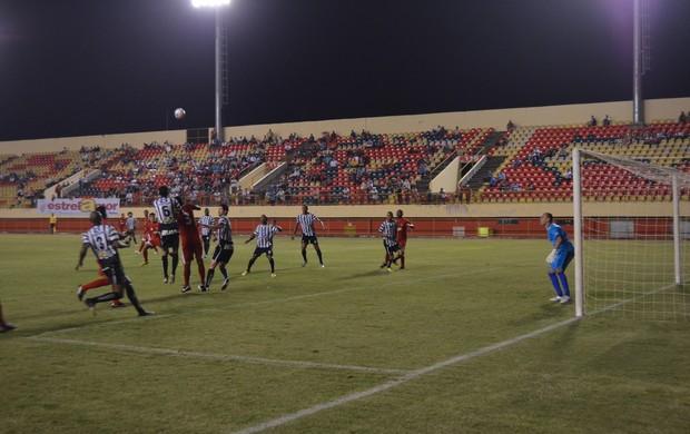 Rio Branco e Treze se enfrentam na Arena da Floresta (Foto: Duaine Rodrigues)