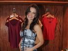 Kyra Gracie, mulher de Malvino Salvador, exibe barriga da gravidez