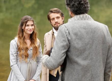 Felipe e Lívia viajam juntos