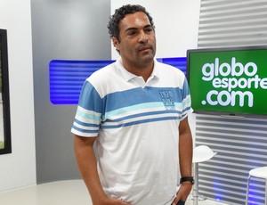 Roberto de Jesus, técnico do Pesqueira (Foto: André Vinícius / GloboEsporte.com)