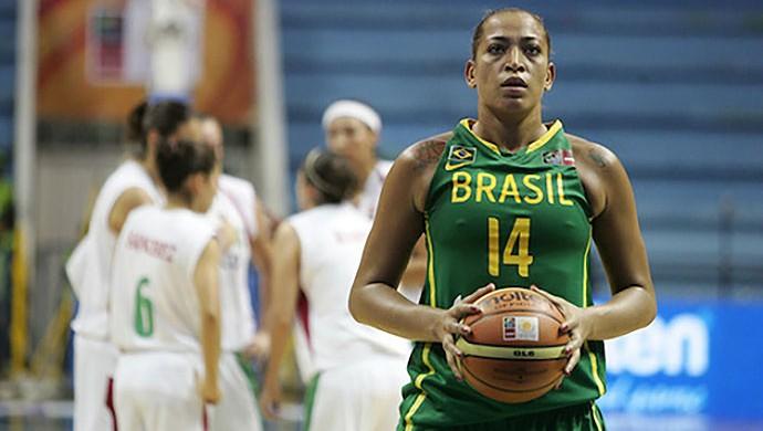Erika, basquete Brasil (Foto: José Jimenez / FIBA)