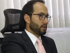 Promotor Horival Marques de Freitas Júnior (Foto: Reprodução / TV TEM)