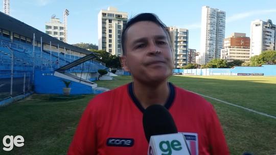 Técnico do Santão destaca poder de reação em empate com o Vitória-ES