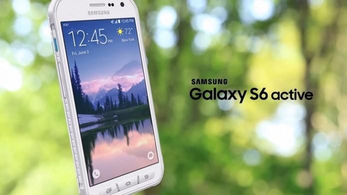 S6 Active da Samsung é um smart robusto para situações extremas (Foto: Divulgação/Samsung)