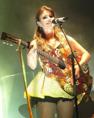 Paula Fernandes (Foto: Alexandre Lopes/G1)