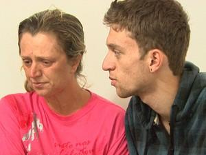 Mãe e irmão de Gabriela Zafra devem prestar depoimento nesta segunda-feira em Ribeirão Preto (Foto: Paulo Souza/EPTV)